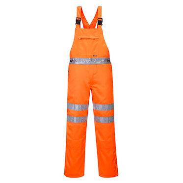 Hi-Vis Bib & Brace RIS Orange EXRT43