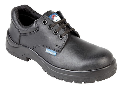 EX5113 Himalayan Black Leather HyGrip Safety Shoe