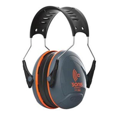 Sonis Compact Low Profile Adjustable Ear Defenders - 32dB SNR