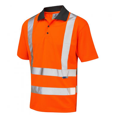 Rockham ISO 20471 Class 2 Coolviz Polo Shirt EXP02