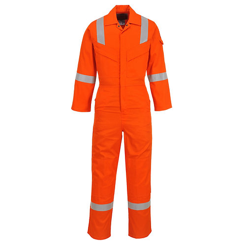 Flame Resistant Super Light Weight Anti-Static Coverall 210g EXFR21