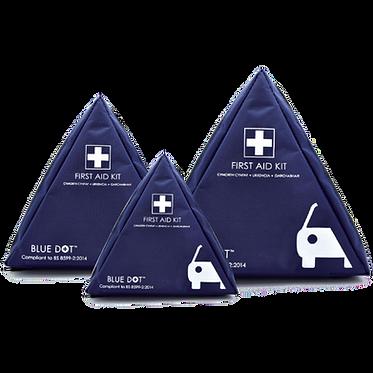 BS 8599-2 Motor Vehicle First Aid Kits In Triangular Bag