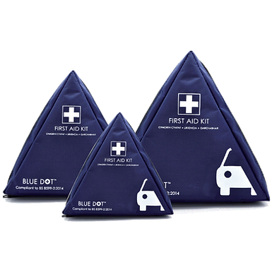 BS 8599-2 Motor Vehicle First Aid Kits In Triangular Bag