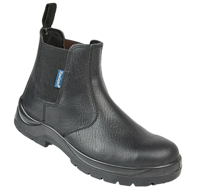 EX151B Himalayan Black Leather Dealer Safety Boot