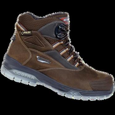 Cofra Michelangelo S3 SRC GORE-TEX Brown Safety Boot EXMICHELANGELO