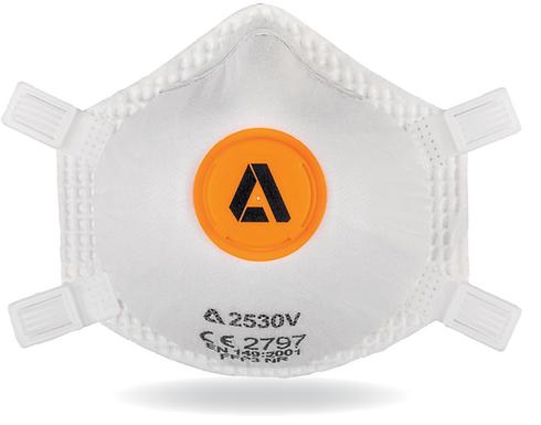 Alpha Solway 2530V FFP3 Valved Cupped Mask (10 Box)