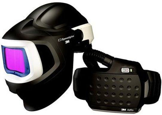 3M Speedglas Welding Helmet with Filter and Powered Air Respirator. 577725