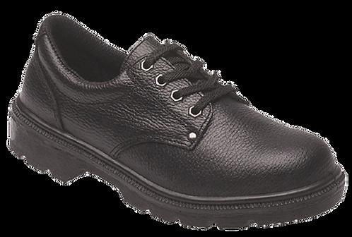EX2414Toesavers Black Dual Density PU Shoe