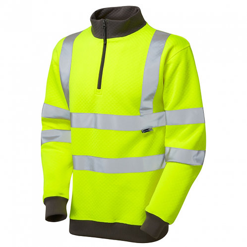 BRYNSWORTHY Class 3 1/4 Zip Sweatshirt