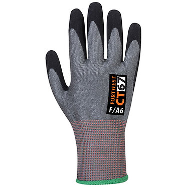 CT AHR Nitrile Foam Cut F Glove EXCT67