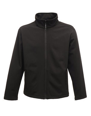 Regatta  Mens Printable Softshell Black L