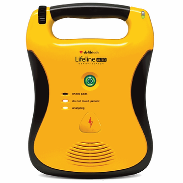 Lifeline Fully Automatic Defibrillator With 5 Year Battery (Each) EX5001137