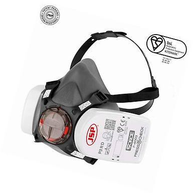 Force™ 8 Half-Mask with PressToCheck™ P3 Filters EXBHT0A30L5N00