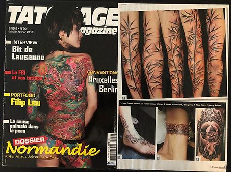 EvoTattoo MedTattoo formation tatouage magazine