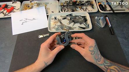Formation machine à bobines tatouage EvoTattoo