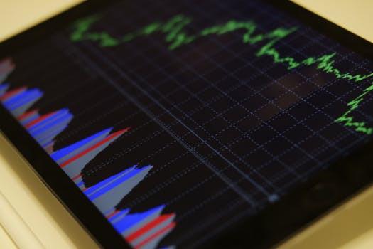 data, tablet, chart, business
