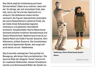 Kritik Wiener Zeitung, Sophie Resch
