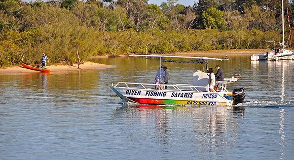 Half Day River Charter - Sole Booking