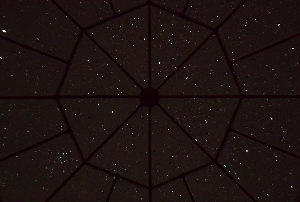 nid aux étoiles: vue toit