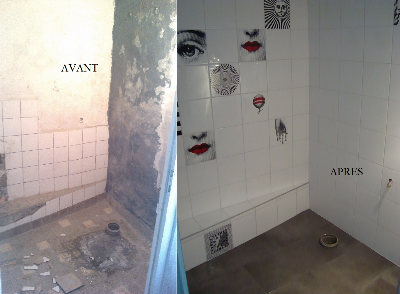 Rénovation toilette