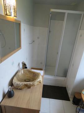 salle de bain gite l'écureuil