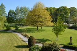 Jardin gîte Normandie