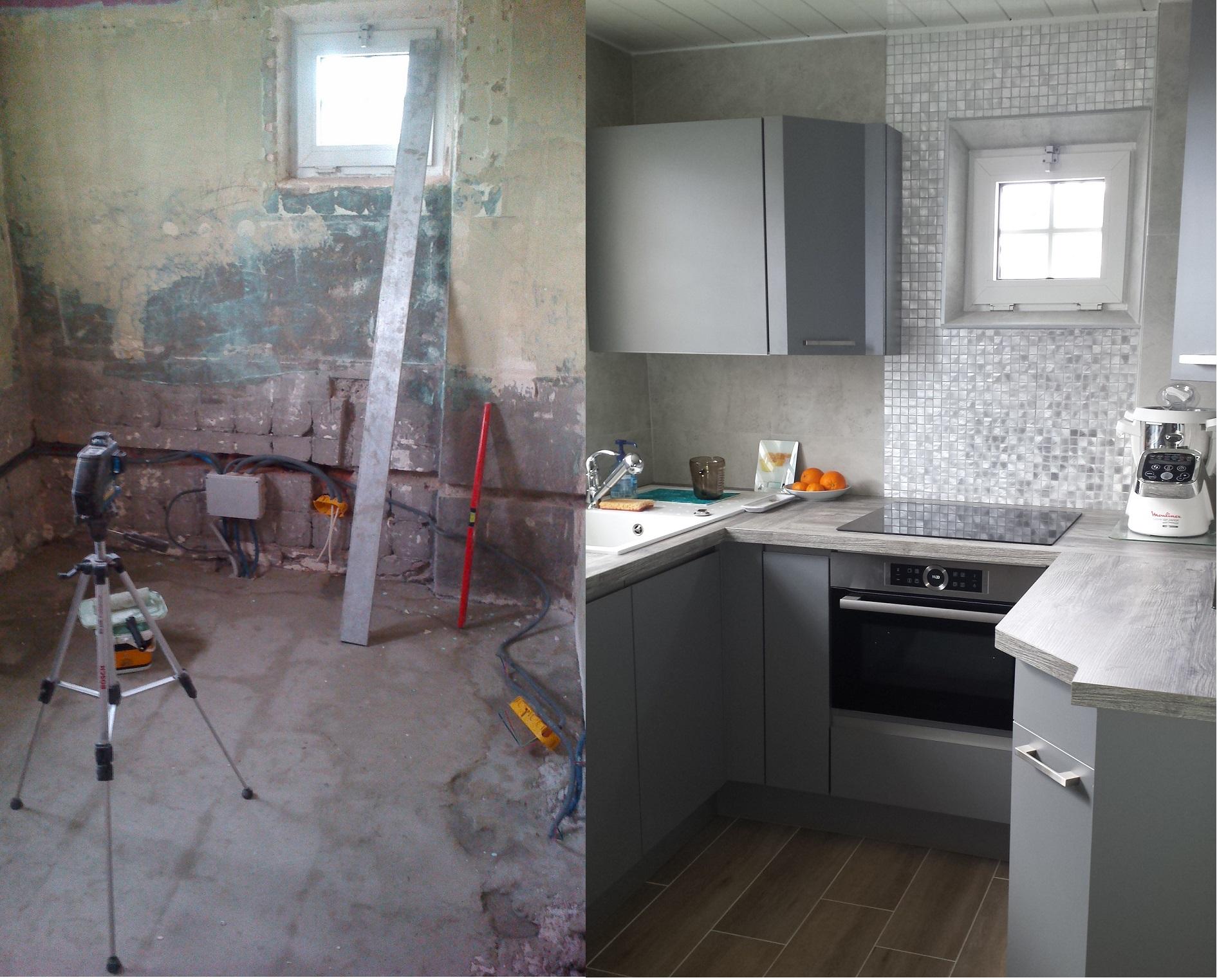 Rénovation total d'une cuisine