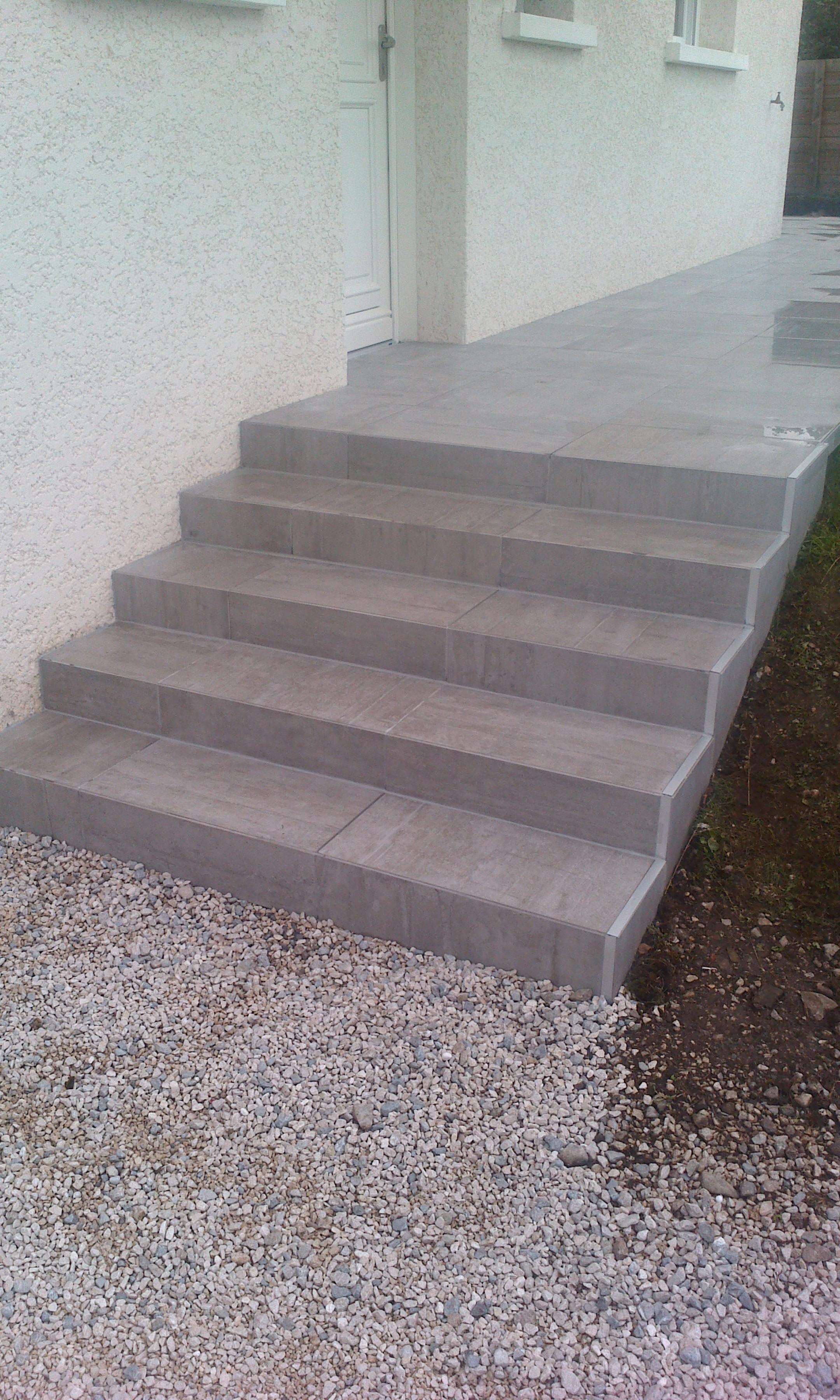 Rénovation marches d'escaliers
