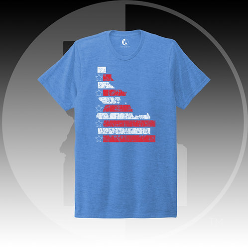The Patriot Tee AMERICAN BLUE WS