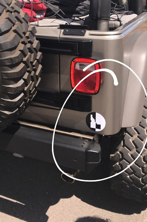 "4"" Circle Sticker"