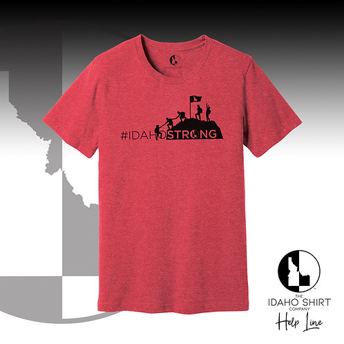 #IDAHOSTRONG Gift Card Tee RED