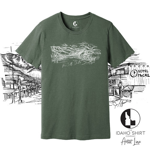 ArtistLine Downtown McCall Military Green WS