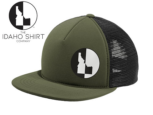 Flat Bill Idaho Shirts Snapback WS
