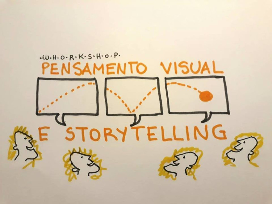 WORKSHOP PENSAMENTO VISUAL E STORYTELLING