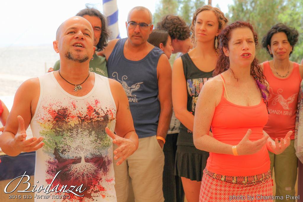 Festival Biodanza Israel 2015