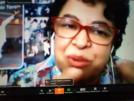 Entrevista Escuela Biodanza Israel: Angelina Pereira.