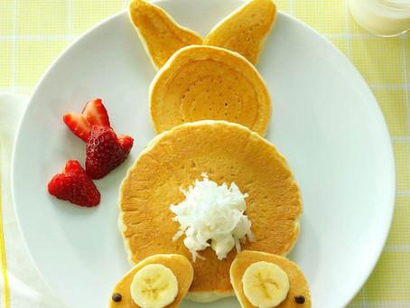 Fluffy Bunny Pancakes