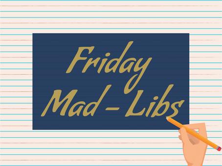 Superhero Mad-Libs