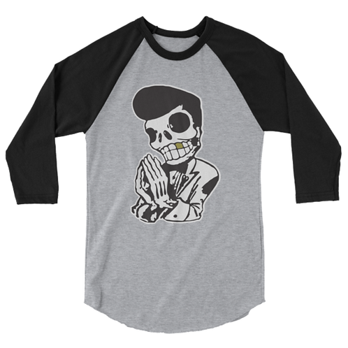 Crisp 3/4 Sleeve Raglan Shirt