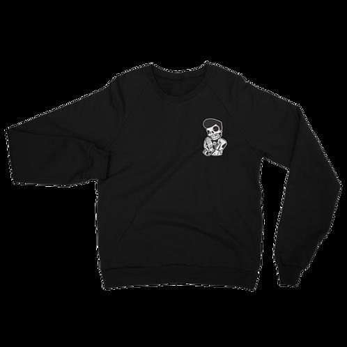 Crisp Unisex California Fleece Raglan Sweatshirt