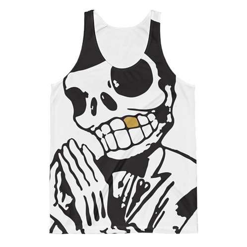 Crisp Classic Fit Allover Tank Top - Unisex