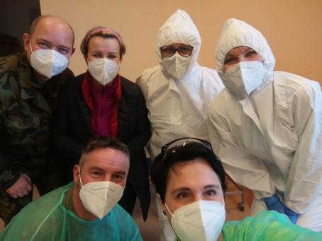 Od 1. 2. 2021 vypomáhají odborné učitelky v Nemocnici Třebíč