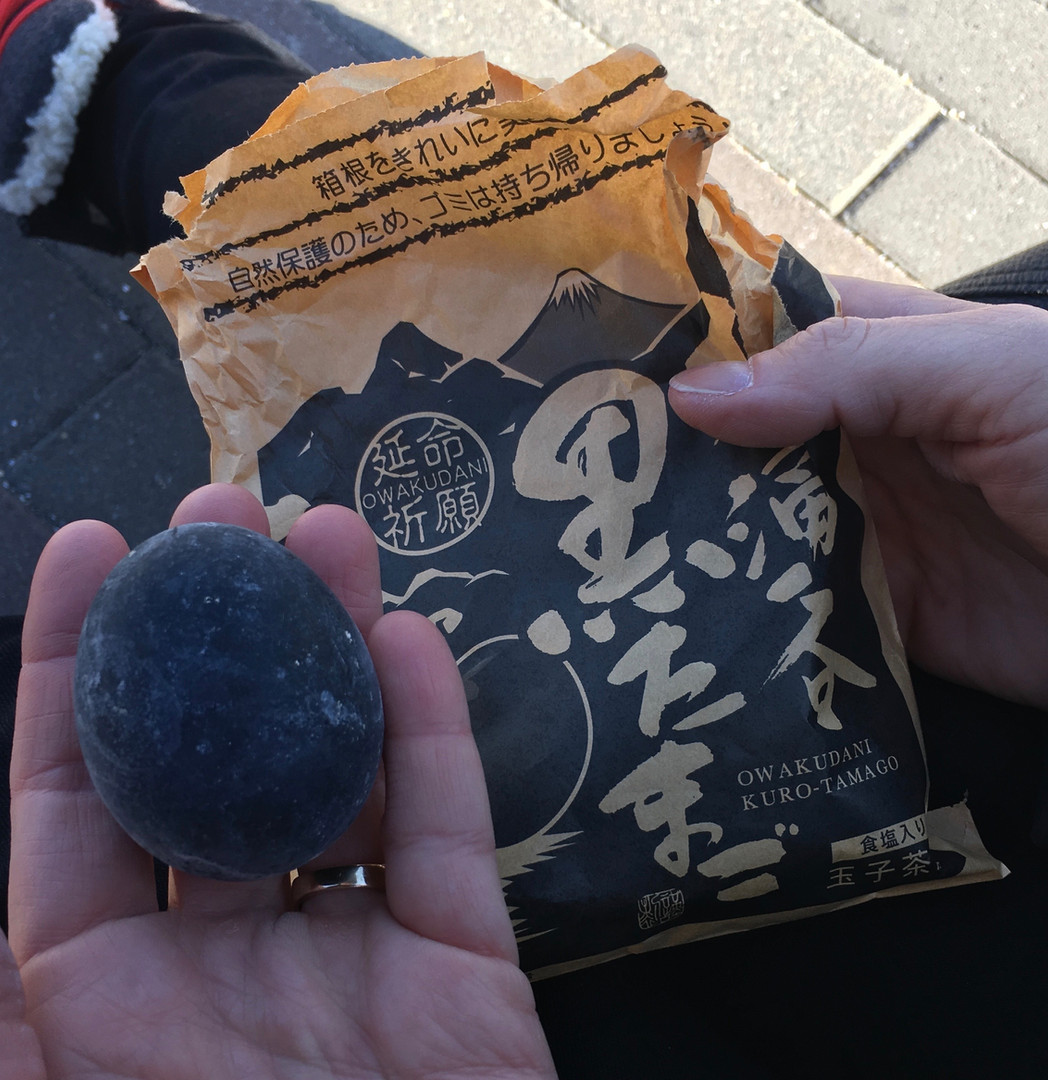 Hakone Black Egg