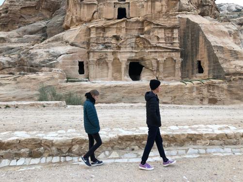 Early Birds at Petra
