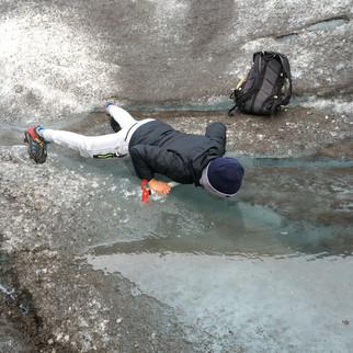 Clean Glacier Water