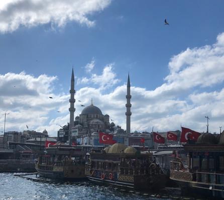 Bosphorus cruise launch