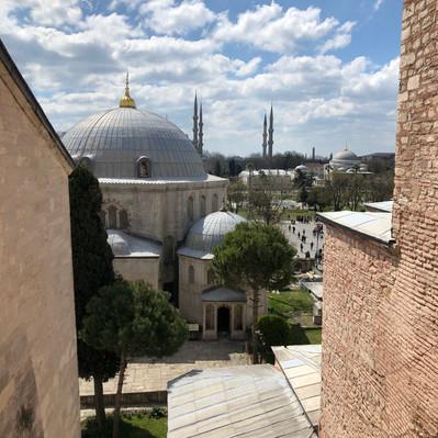 Views from Hagia Sofia