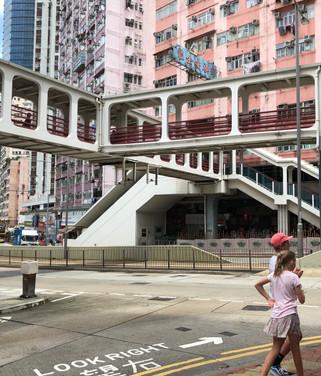 Walking in HK