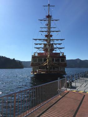 Lake Ashi Pirate Ship