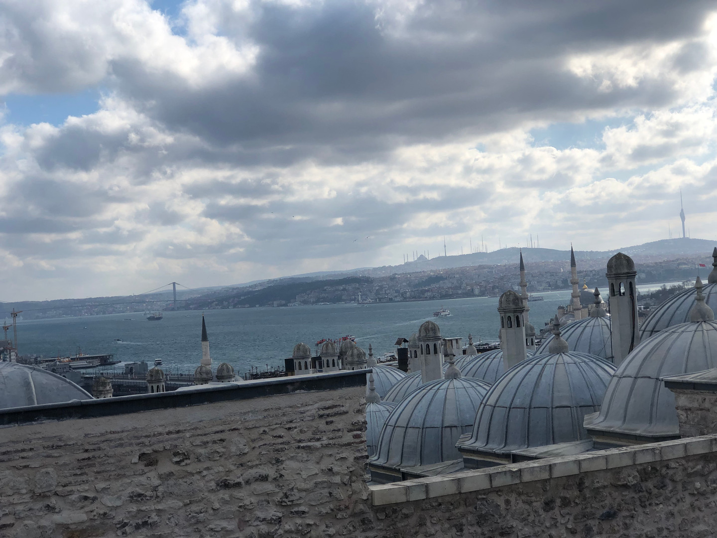 view from Süleymaniye Mosque